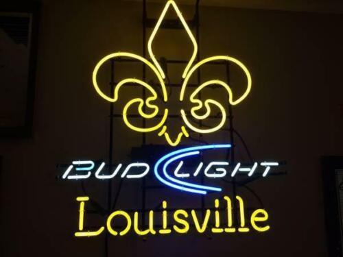 "New Bud Light Louisville Derby City Rovers Beer Bar Neon Light Sign 24/""x20/"""