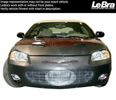 LeBra Front End Cover Chrysler Sebring Black Vinyl