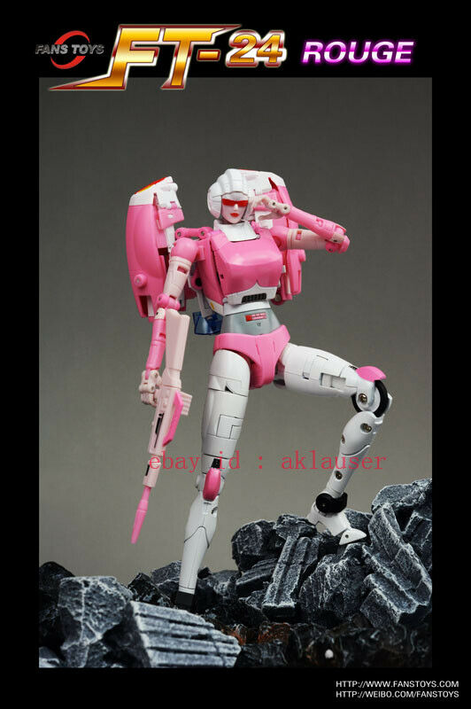 Transformers Robots Toy Alloy Fans Toys FT-24 FT24 Rouge G1 Arcee Action Figure