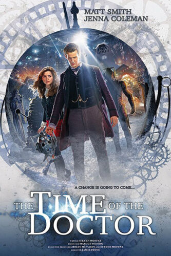 Doctor Who The Time of the Doctor Poster 19 Size 61 x 91.5cm FREE DELIVERY