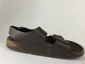 26113ff7a4e Birkenstock Milano Ankle Slingback Womens 6 M EUR 37 Brown Leather ...