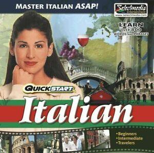 QuickStart-Italian-AUDIO-2-CDs-Learn-Italian-Quickly-Brand-New-Sealed