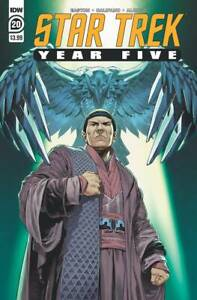STAR TREK YEAR FIVE #20 IDW PUBLISHING