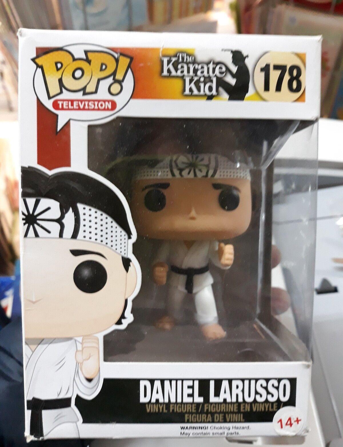 Daniel Larusso, karate grabben 178 TV pop funko