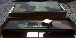 Details about NW STEEL CAB HARDTOP  MILITARY/ARMY/TRUCK/5-TON/6X6/M939/M923/M925/M927/M931/M936