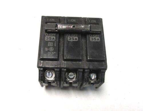 General Electric 35A Circuit Breaker 3P YI-801 Cat# THQB32035 ..