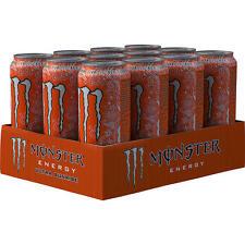 12 Dosen Monster Ultra Sunrise Energy Drink a 500ml inc. Pfand Energy Drink