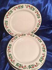 Gibson Everyday Christmas Fine China Dinnerware Plate(s)