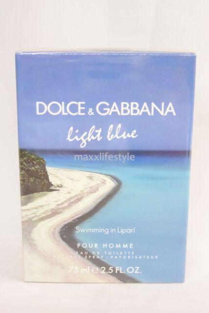 *Dolce & Gabbana - Light Blue Homme Swimming in Lipari EdT Spray 75ML Neu & OVP*