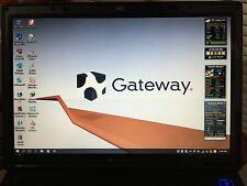 "Gateway E-475 15.4"" ,2.2GHz Intel Core 2 Duo, 2GB,120GB HD,win10 Pro, Office2013"