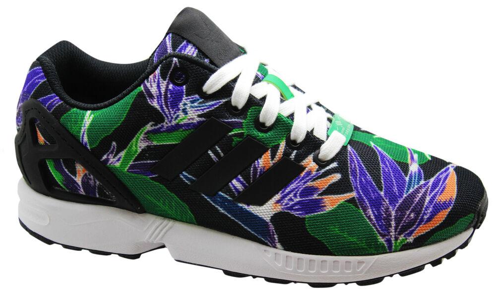 ADIDAS ORIGINALS ZX FLUX Baskets Hommes chaussures Course dentelle noire b34518