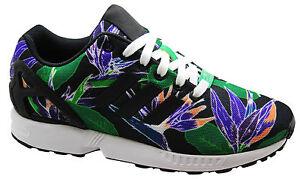 Hombre U109 Flujo Zx Para B34518 Negro Encaje Zapatillas Originals Adidas Correr Wqaf6aI