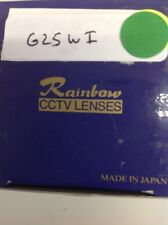 "Rainbow - G25WI - CCTV - Lens, 1"", 25mm, f/1.4, Manual Iris, C Mount"