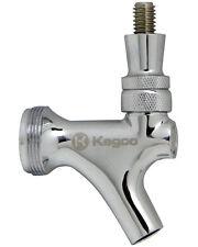 Kegco Chrome Draft Beer Faucet For Keg Tap Tower Or Kegerator Free Shipping