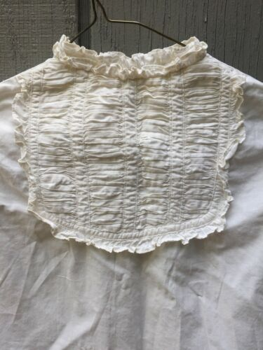 Vintage Baby Cotton Prairie Country Dress with Gat