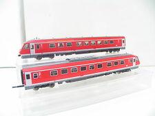 Fleischmann 4418 carro trainante VT 610 PENDOLINO rosso della DB bw1208