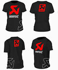 camiseta tshirt AKRAPOVIC MOTO MOTOCYCLE MOTO GP LORENZO ROSSI MARQUEZ S M L XL