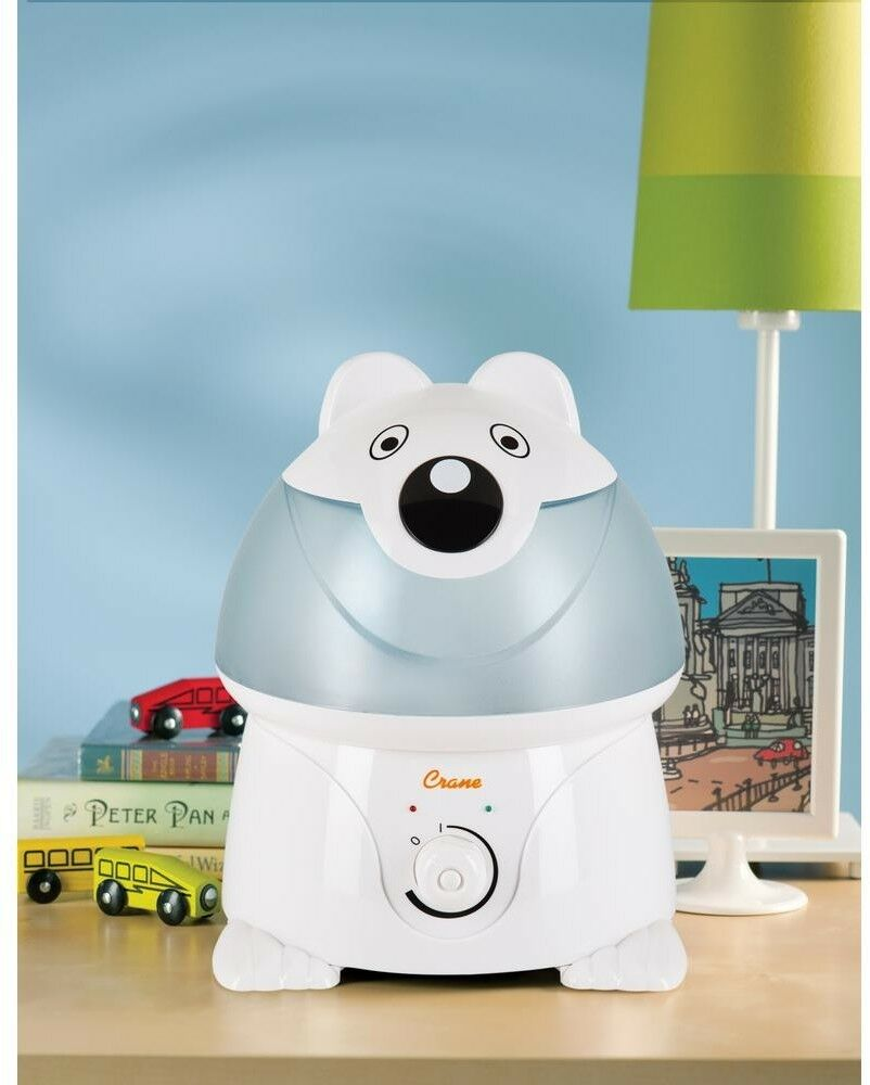 Crane Adorable Ultrasonic Cool Mist Humidifier Polar Bear