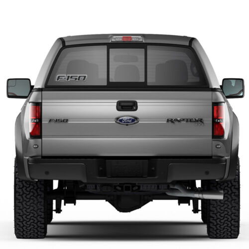 "Ford F-150 12/"" 3M Perforated Unobstructed View Window Graphic Decorative Decal"