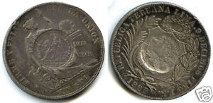 GUATEMALA-REPUBLIQUE-1-2-REAL-1894-RARE