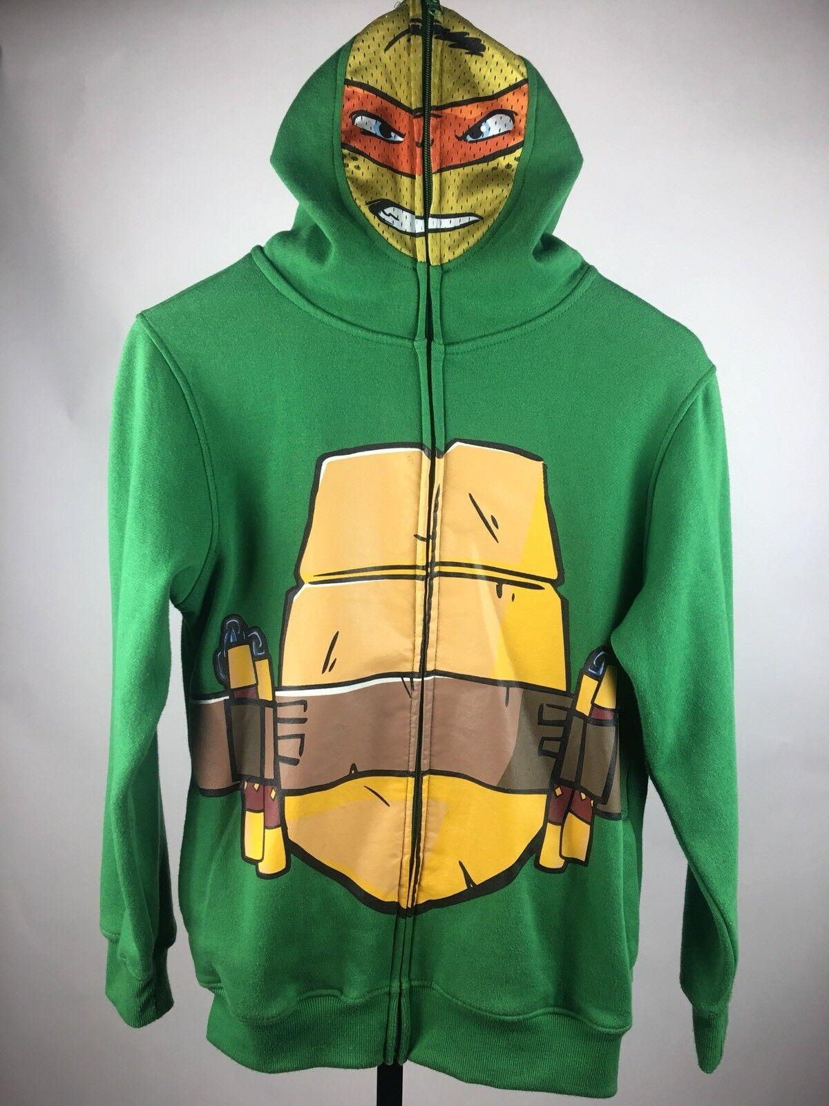 Teenage Mutant Ninja TURTLES Kapuzenjacke Boy FULL Zip Mask Large 14-16
