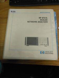 hp agilent 8757a scaler network analyzer service manual loc 424 ebay rh ebay co uk hp agilent service manuals hp/agilent 53132a manual