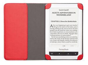 Schutzhuelle-Dots-Red-Cover-fuer-6-Zoll-PocketBook-eBook-Reader