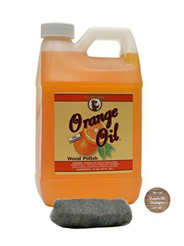 Howard Orange Oil 64 Ounce Half Gallon Clean Kitchen ...
