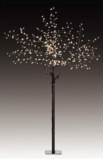600 LED Kirschbaum Lichterbaum H  250 Innen Beleuchtung Baum Blüten Bäumchen