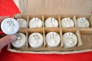 lot de 4 interrupteurs doubles avec fusible  LEGRAND annés 70 neufs sans boite