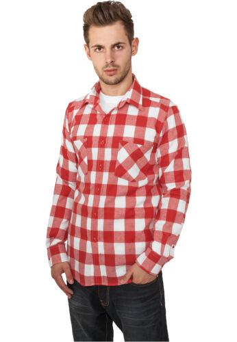 Urban Classics Checked Flanell Shirt Holzfäller Karo Hemd Lumberjack 5XL kariert