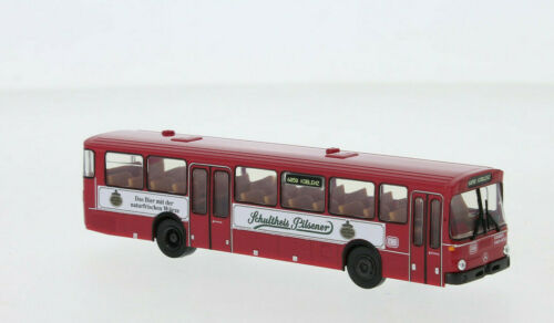 "/""Schultheis Pilsener/"" Brekina 50641 MB O 307 Überlandbus rot DB Neu 2020 H0"