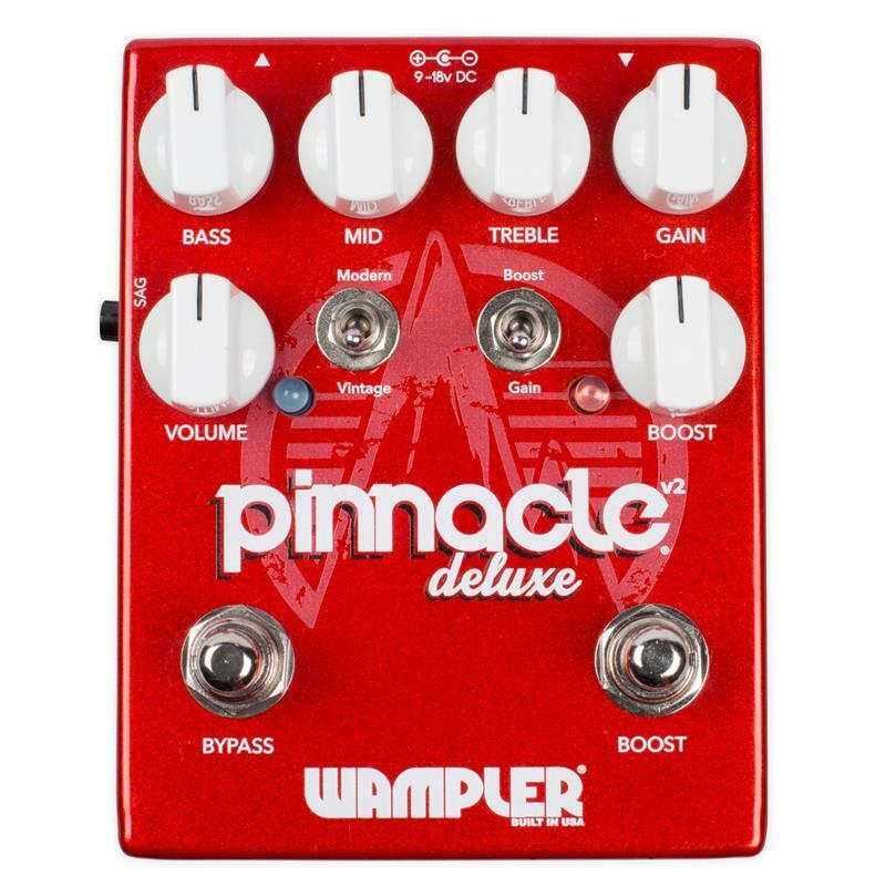 Wampler Pedals Pinnacle Deluxe V2 Distortion Guitar Effect Pedal NEW