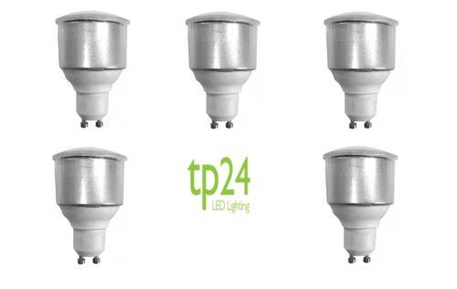5x tp24 tp8212 3.5W GU10 L1 long neck opal cover dimmable LED light bulb