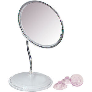Zadro 7x Vanity Or Wall Mount Gooseneck Magnifying Mirror