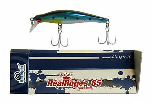 COLOR RR106 NEW BY BLUSPIN JERK BAIT REAL ROGOS 105 17g 105mm SINKING