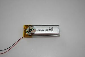 Oakley-O-Rokr-Thump-2-ONLY-200mAh-replacement-Battery