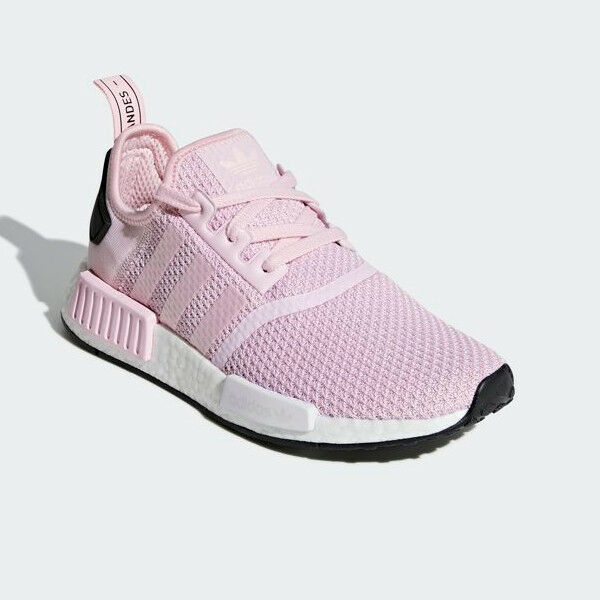 NMD R1 B37648 Pink  White, Unisex Athletic Sports Sneakers (US 4-11)