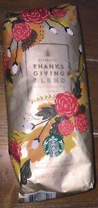 1-Starbucks-Thanksgiving-Blend-Coffee-Beans-Dark-Roast-2018-Sealed-New-16-oz