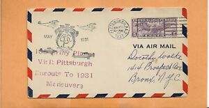 US-C16-Premier-Vol-105th-Armee-Planes-Visite-Pittsburgh-May-22-1931