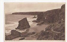 Bedruthan Steps near Newquay 1947 Postcard, A462