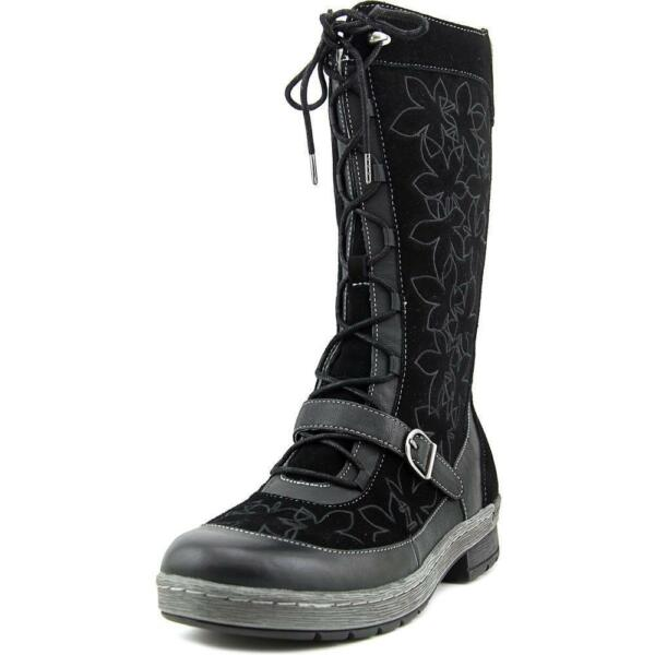Jambu Hawthorn Women US 11 Black Mid Calf Boot  3a6c69c9b65ab