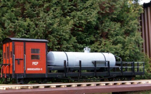 Modelik 01/16 - Unkrautvernichtungswagen Schmalspurbahn 1:25  ohne/mit Lasercut