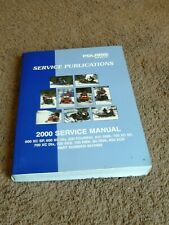 2002 Polaris XC SP And XCR Performance Snowmobile Service Manual 9917367