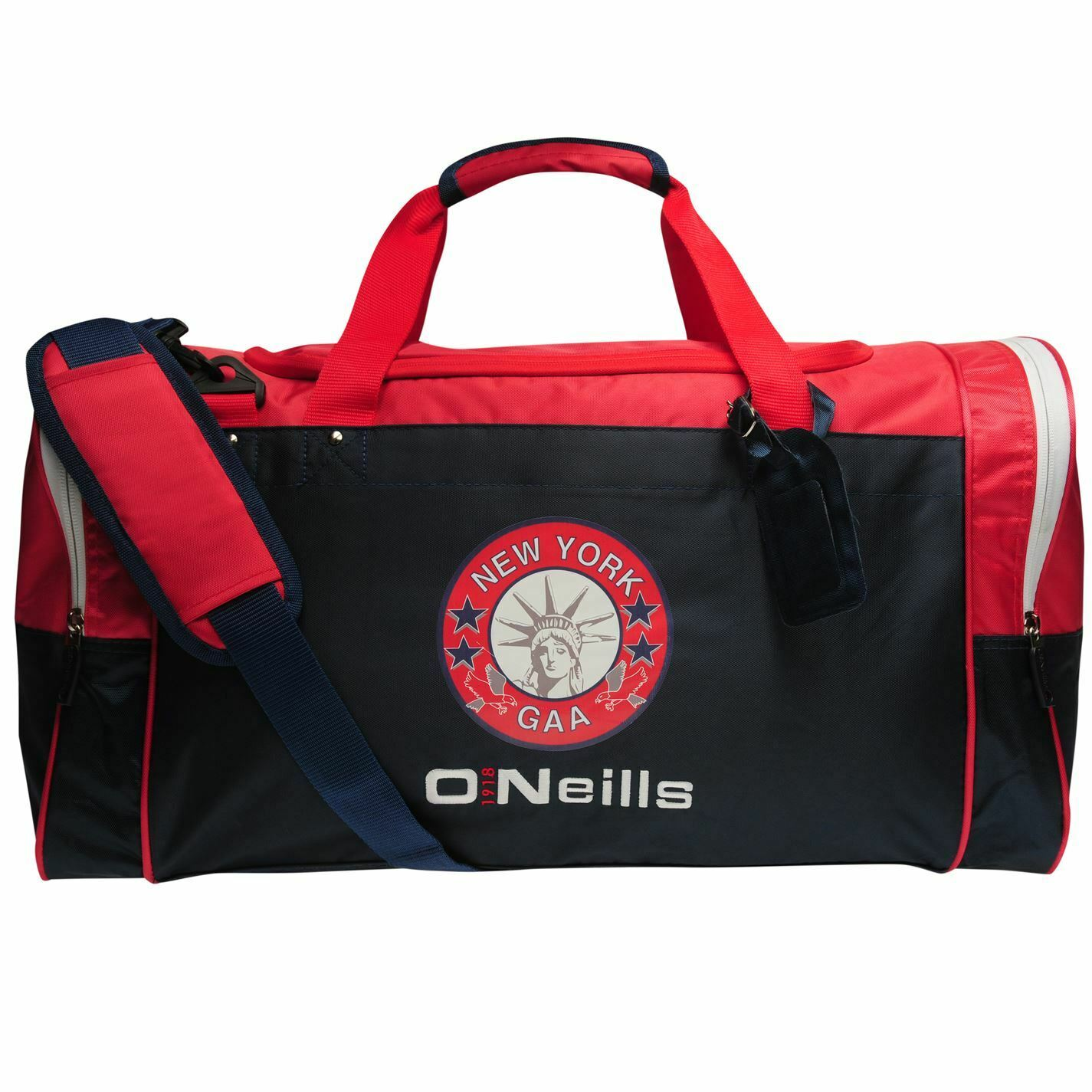 ONeills Unisex New York GAA Denver Holdall Bag Zip