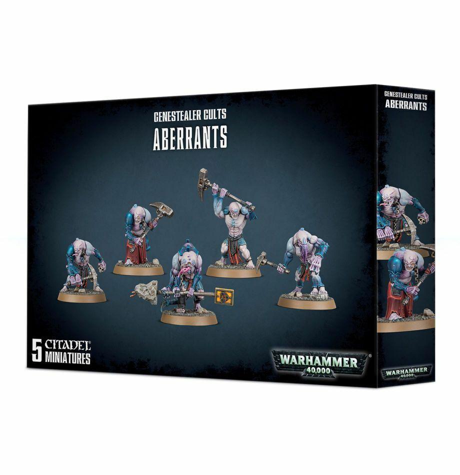 Genestealer Cults Aberrants Workshop Warhammer 40000 Tyranids 51-59 Aberrant