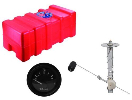 Anzeige NEU Bootstank Benzintank Kraftstofftank Tank mit Tankgeber inkl