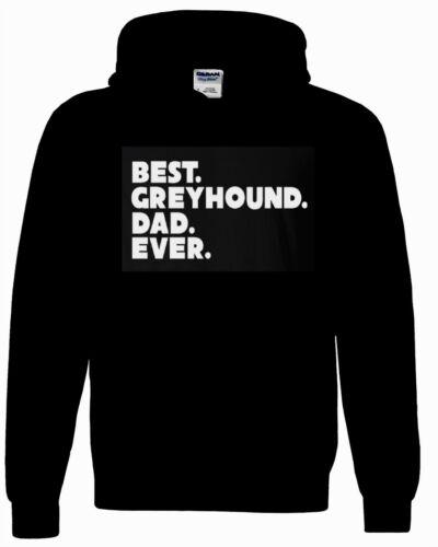 Greyhound Dog Hoody Sweatshirt Best Dad