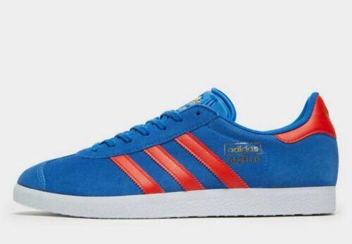 Adidas Originals Gacela en Azul para Hombre entrenador Stock Limitado