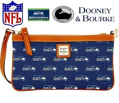 Dooney /& Bourke NFL Seattle Seahawks Stadium Wristlet